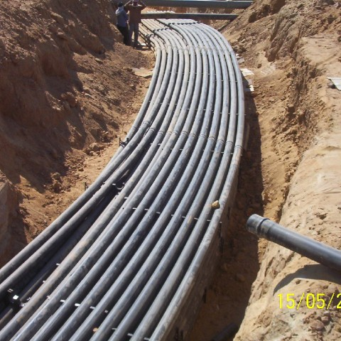 Civil Works for Fiber Optics Alternative Routes – Greater Cairo