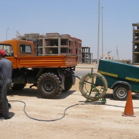 Replacement & upgrading the existing Fiber Optic Network in Greater Cairo I, II